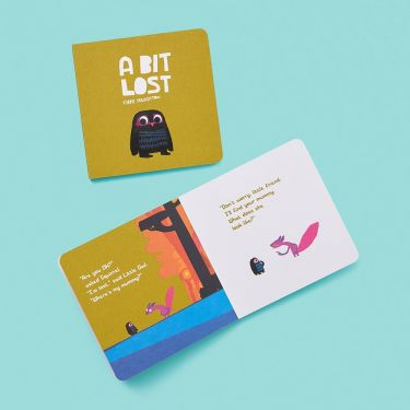 A Bit Lost Board Book | Baby Bookshelf | Baby Genius