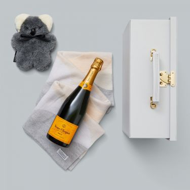 Newborn Baby Snuggly Gift and Veuve