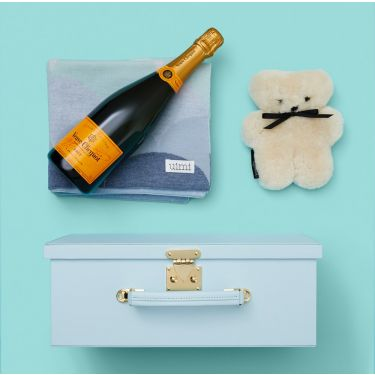 Baby Boy Snuggly Gift and Veuve