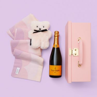 Baby Girl Snuggly Gift and Veuve