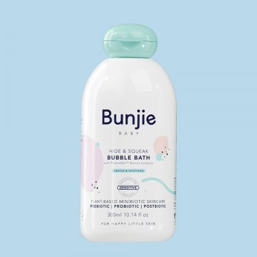 Bunjie Baby Hide and Squeak Bubble Bath 300ml | Baby Skincare