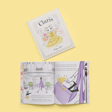 Claris Fashion Show Fiasco Book by Megan Hess