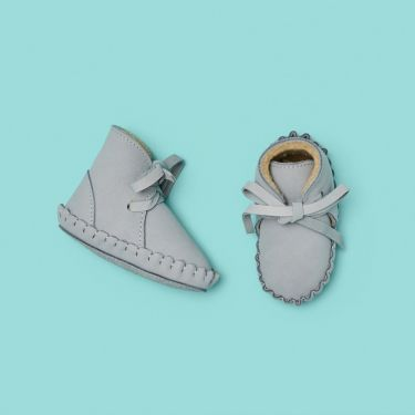Donsje Mist Pina Lining Nubuck Shoes 6 to 12 months