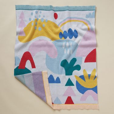 Halcyon Nights Love Land Fluffy Knit Blanket 80 x 100cm