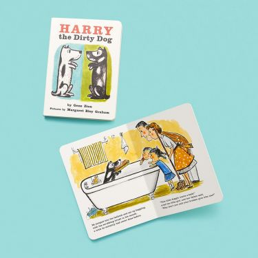 Harry the Dirty Dog Board Book | Baby Bookshelf | Baby Genius