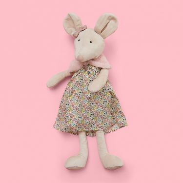 Jiggle and Giggle Charlotte Mouse Baby Soft Toy 60cm
