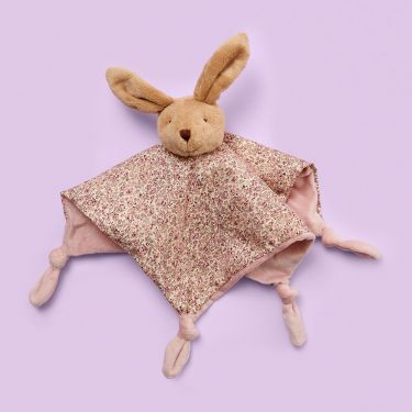 Jiggle and Giggle Floral Bunny Soother
