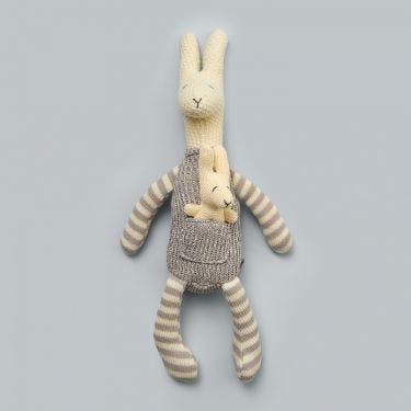 Jiggle and Giggle Kangaroo and Joey Soft Toy