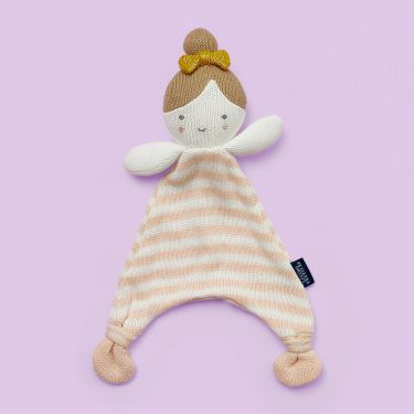 Living Textiles Ballerina Knitted Security Blanket