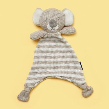 Living Textiles Koala Knitted Security Blanket