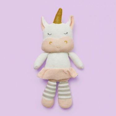 Living Textiles Unicorn Soft Toy