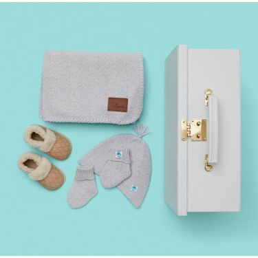 Luxe Baby Oatmeal Cashmere Gift Hamper