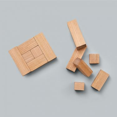 Melbourne Design Co Block Set Victorian Ash Wooden Toy