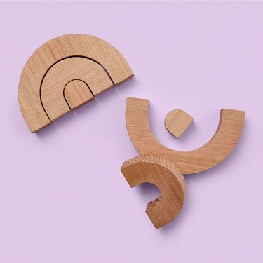 Melb Design Co Rainbow Wooden Toy | Wooden Toys made in Melbourne Australia