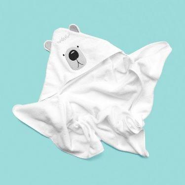 Mister Fly Bear Hooded Towel | Baby Bath Time