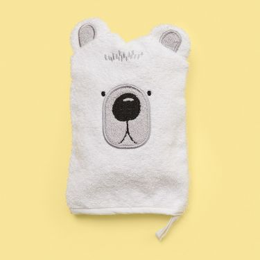 Mister Fly Bear Wash Mitt | Baby Bath Time