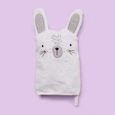 Mister Fly Bunny Bath Mitt | Baby Bath Time