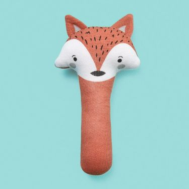 Mister Fly Fox Hand Rattle