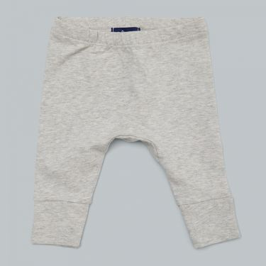 Pappe Joy Organic Baby Stetchy Legging - Grey Marle