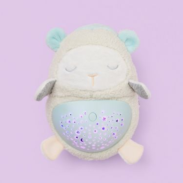 Skip Hop Moonlight & Melodies Hug Me Projection Lamb Soother