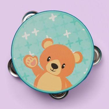 Studio Circus Bear Tambourine