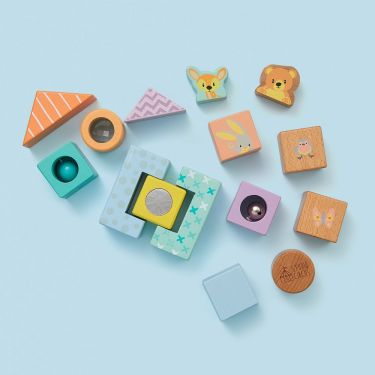 Studio Circus Discovery Wooden Blocks