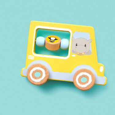 Studio Circus Activity Car Wooden Toy