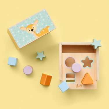 Studio Circus Shape Sorter Wooden Toy