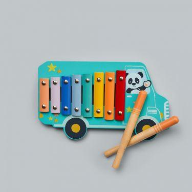 Studio Circus Bear Xylophone | Baby Genius | Musical Toys