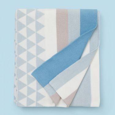 Weego Amigo Journee Knit Blanket Oslo Blue