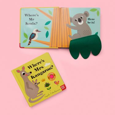 Wheres Mrs Kangaroo | Baby Genius | Baby Bookshelf