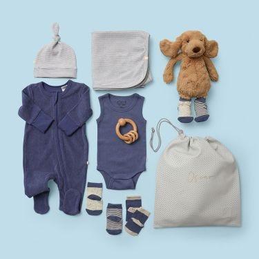 Beautiful Newborn Baby Boy Gift Hamper | Unique Baby Gifts
