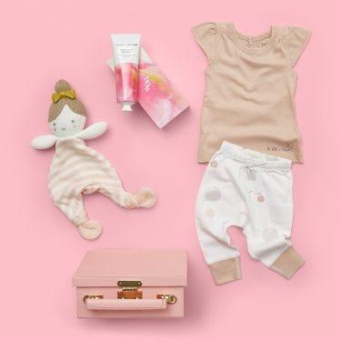 Blushing Ballerina Baby Girl Gift Hamper