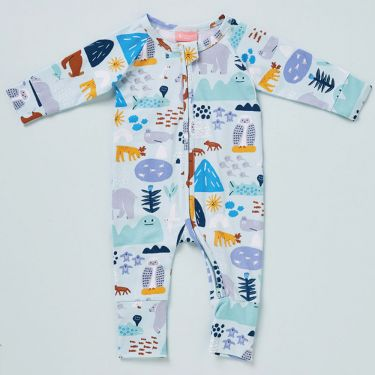 Halcyon Nights Arctic Park Long Sleeve Zip Suit