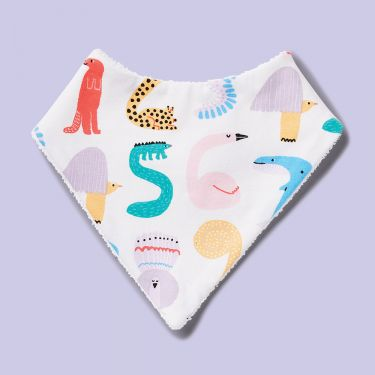 Halcyon Nights Animals Counting Bib
