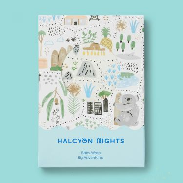 Halcyon Nights Big Adventures Baby Wrap
