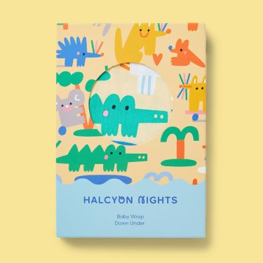 Halcyon Nights Down Under Baby Wrap