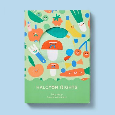 Halcyon Nights Friends with Salad Baby Wrap