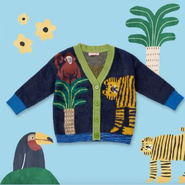 Halcyon Nights Hide and Seek Knit Cardigan 12-18 Months