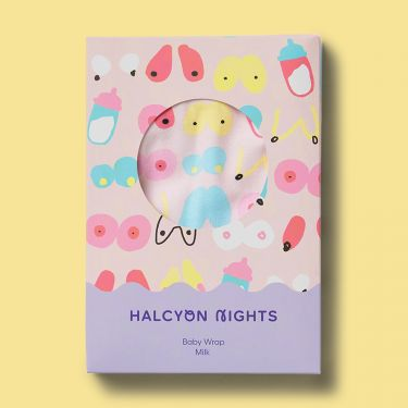 Halcyon Nights Milk Baby Wrap