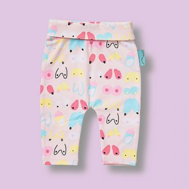 Halcyon Nights Milk Yoga Leggings 3 to 6 Months