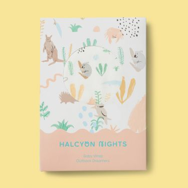 Halcyon Nights Outback Dreamers Baby Wrap