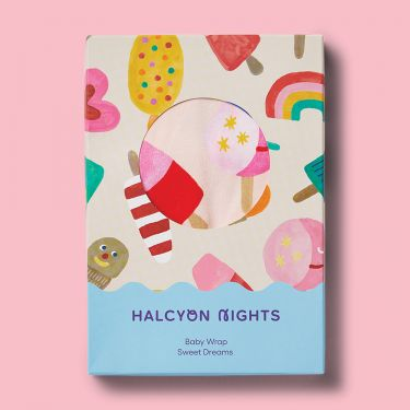 Halcyon Nights Sweet Dreams Baby Wrap