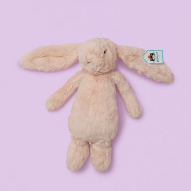 Jellycat Bashful Blush Pink Bunny Medium