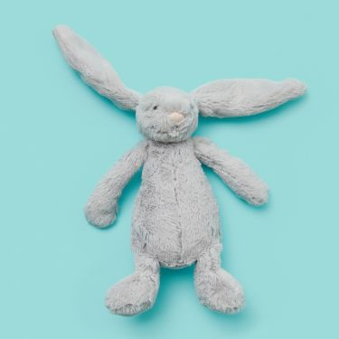 Jellycat Silver Bashful Bunny Small