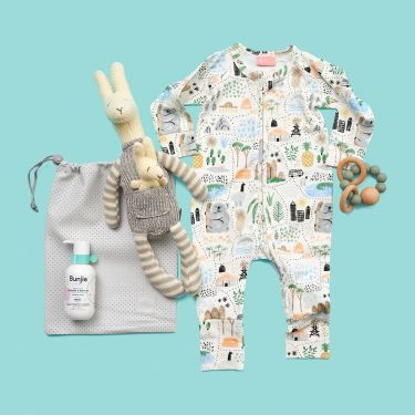 Kangaroo and Joey Cuddle Time Baby Gift Hamper