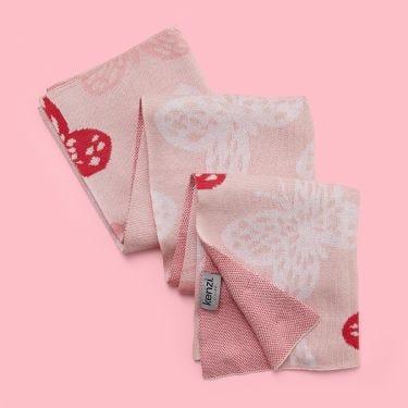 Kenzi Living Butterfly Baby Blanket
