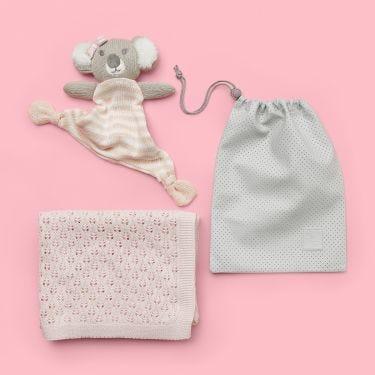 Koala-ty Newborn Baby Girl Gift Hamper