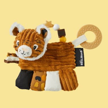 Les Deglingos Speculos the Tiger Activity Rattle