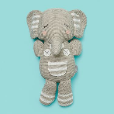 Living Textiles Eli the Elephant Soft Toy